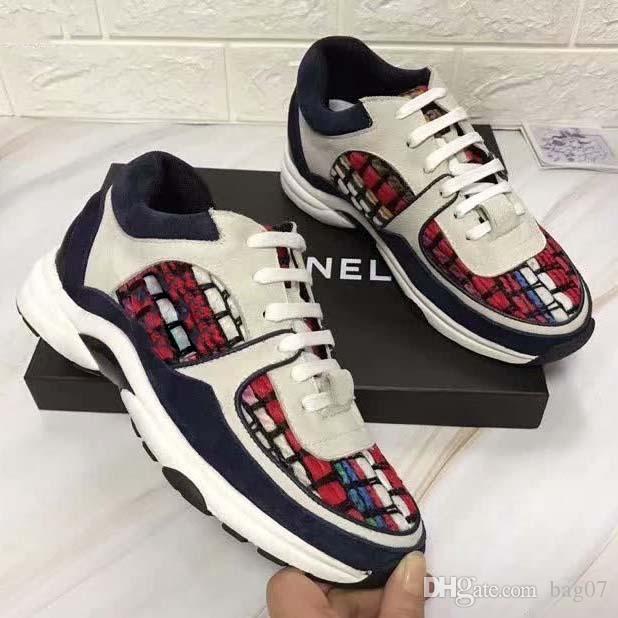 Avec la boîte Sneaker Casual chaussures Baskets bottes de neige chaussures de sport Chaussures Baskets meilleure qualité pour femme libre DHL Par bag07 XNE2204
