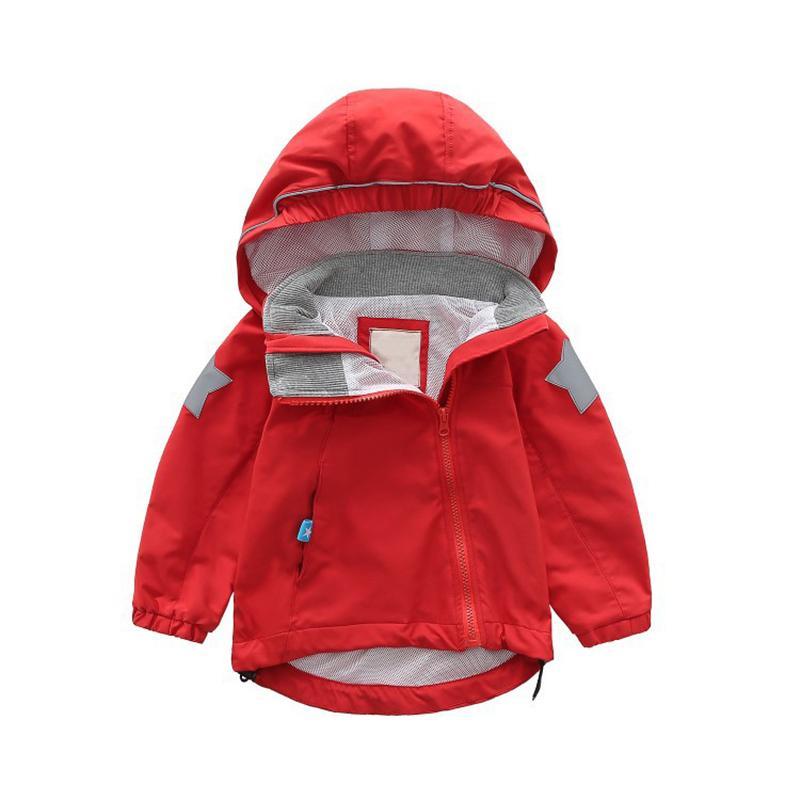 Art und Weise Frühlings-Mädchen-Baby-Kleidung Markenoberbekleidung Mäntel Kinder Kleidung Hoodies-Jacken Windjacke Breathablewindproof Mäntel