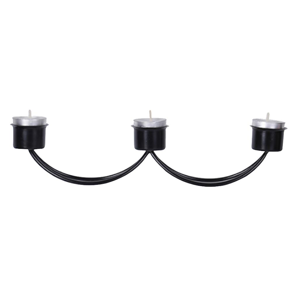 Black 3 Head Candle Cup Holders Modern Candlestick Design For Home Adornment Parties And Wedding Decorations Tall Candlestick Holders Tall Floor Candle Holders From Zeyuantrading 14 09 Dhgate Com