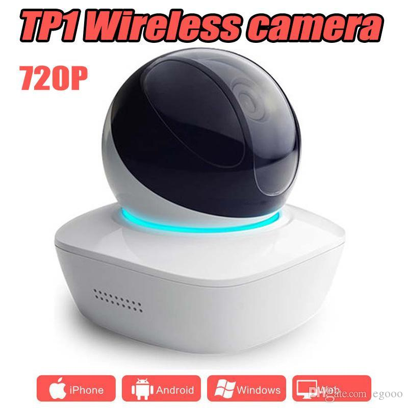 TP1 wireless network baby monitor PTZ 720P multi-functional alarm Surveillance 360 degree Home security WIFI IP camera
