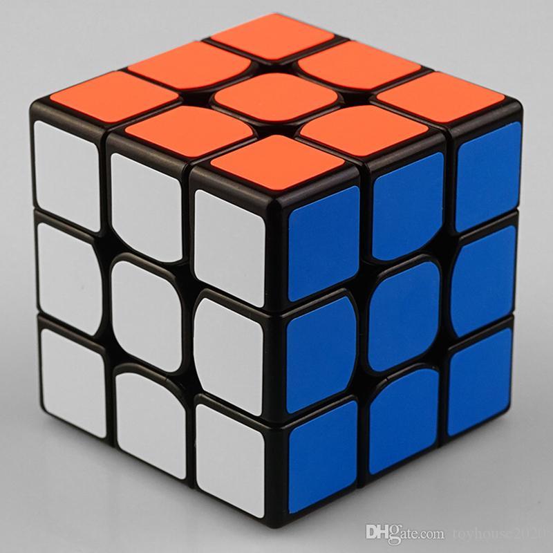 لغز السحر مكعب حية الألوان 3x3 سهلة تحول السلس اللعب الكمال لسرعة مكعب لعبة تعليمية