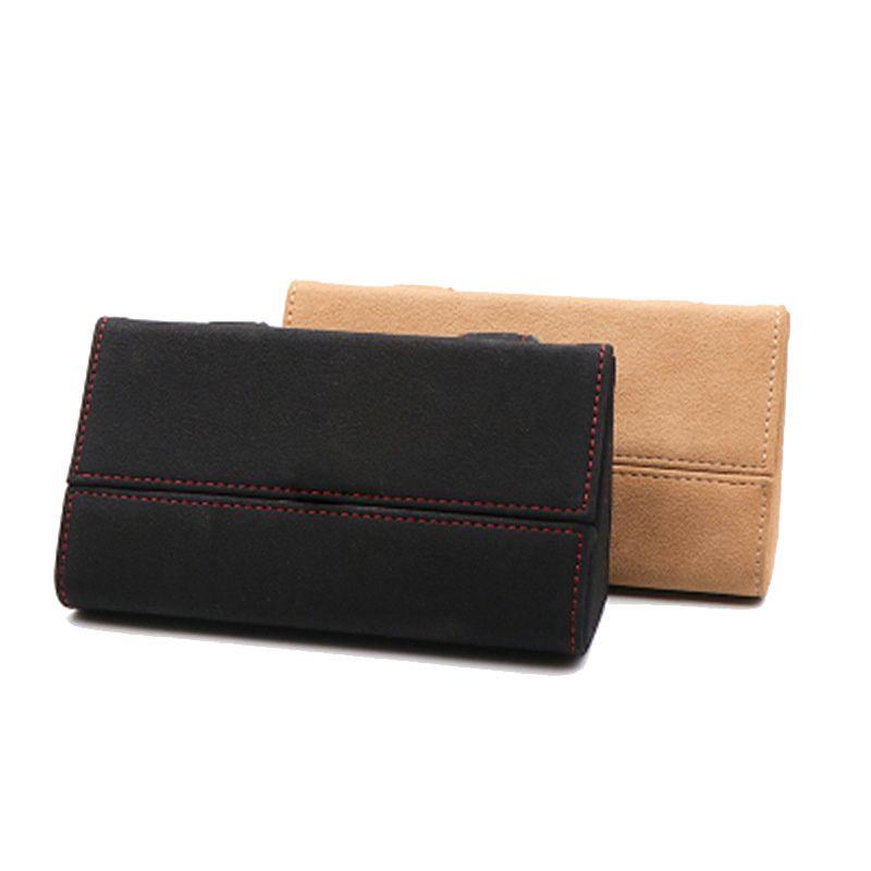 Car Glass Case Sun Visor Multi Function Auto Sunglasses Card Holders Bag Glasses Case Accessories Holder