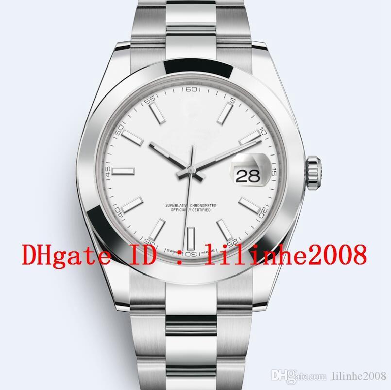 8 Estilo de alta qualidade Assista Day-Date Presidente Datejust 41 milímetros 126333 126334 126300 126331 126301 Asia 2813 Movimento automático Mens Relógios