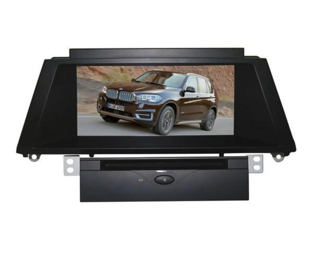 CAR DVD PLAYER WITH GPS Navigation 1080P HD Screen CAR MULTIMEDIA SYSTEM For B MW X5 E70 2011~2014