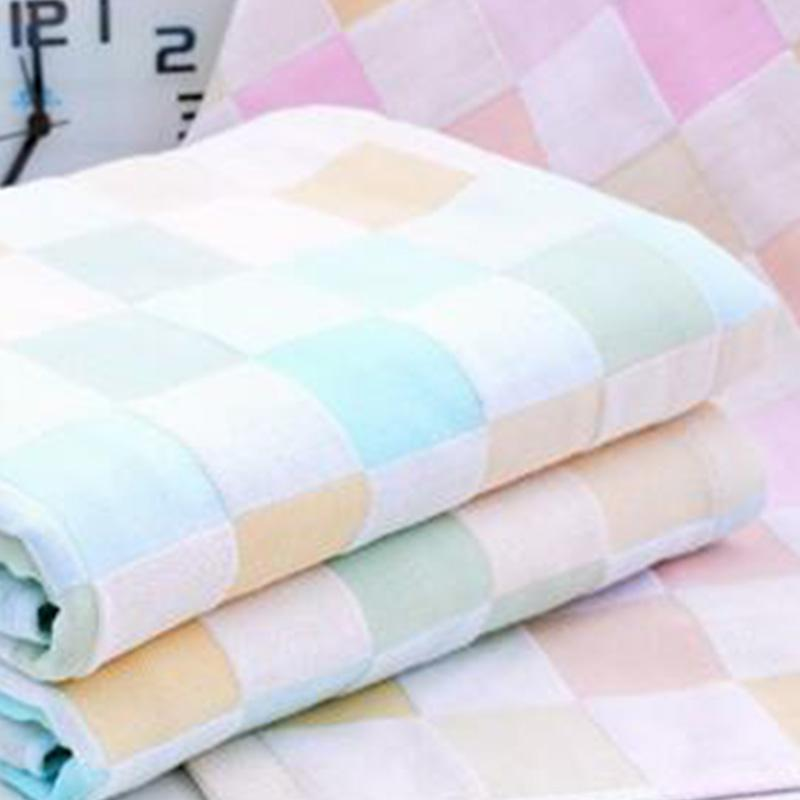2019 новой популярный плед хлопок полотенце цвета абсорбирующих мягкие дышащие простых полотенца пара моделей большие махровые полотенца 70 * 140см