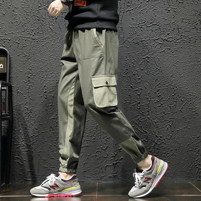 Uomo Pantaloni cargo Pantaloni cargo Militari 2019 Hip Hop Casual Pantaloni tuta uomo Pantaloni casual Streetwear Harem Pants