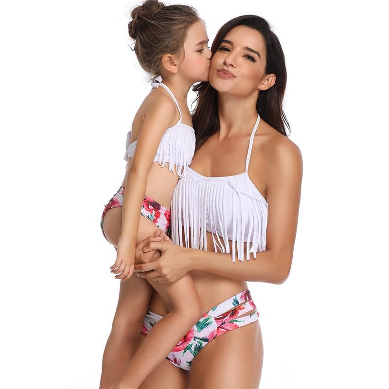 2019 Amazon bölünmüş sevimli bikini Avrupa ve Amerikan patlama mayo