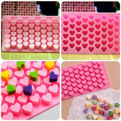 1Pcs Silikon-Schokoladen-Form-Backen-Werkzeug Verschiedene Kuchen dekorieren-Form-Süßigkeit-Plätzchen Schokoladen-Seifen-Backen-Ton New Hot