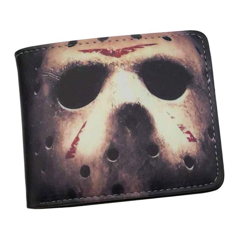 Charm2019 Wallet Male Stephen King It Movie Friday 13th Chucky Nightmare On Elm Street Mens Wallets With Coin Pocket Card Holder
