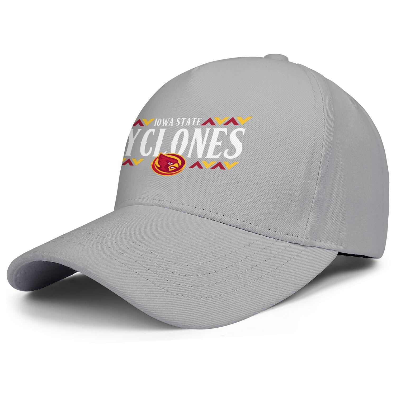 Мода штата Айова Циклоны футбол логотип Товарный знак мужской бейсболки Vintage персонализированный Trucke Шляпы Флаг Проблемные Логотип 3D-эффект
