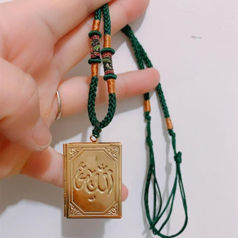 Exquisite Islam Choker Necklace Women Jewelry Top Quality Gold/Silver Islamist Pendant Necklace Girls Male Accessories