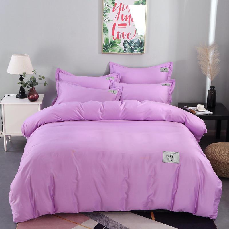 Impresión de patrón de ropa de cama de 100% poliéster 3D moderna tendencia de moda clásico logotipos establece individual Reina Doble extragrande