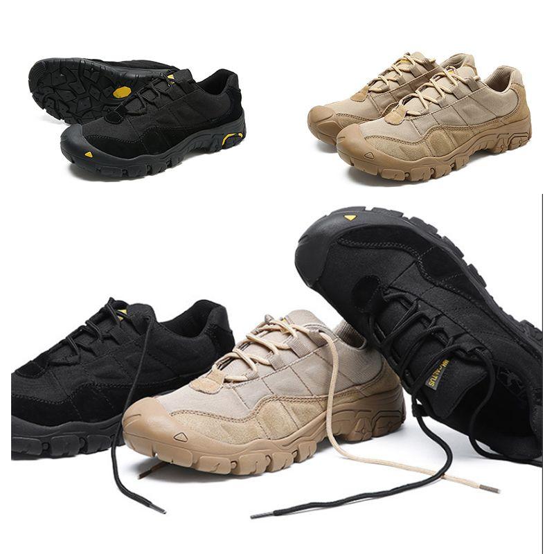 2020 Venta caliente entera de los hombres al aire libre de excursión los zapatos Negro Beige resistente al desgaste zapatos antideslizante Atlética entrenadores deportivos zapatillas de deporte Tamaño 38-46