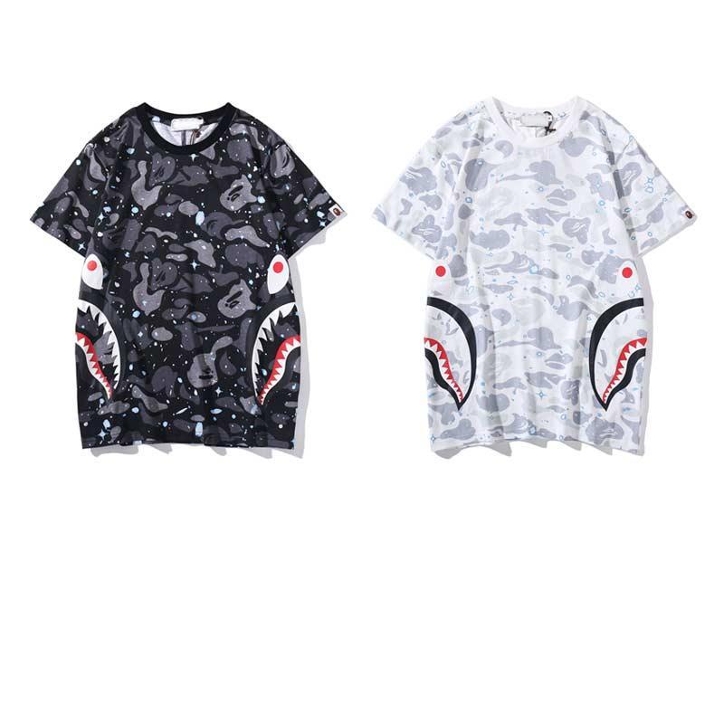 homens marca T-shirt do desenhista de verão 2020 homens e mulheres respirável solta T-shirt do desenhista hip hop rua roupas top de luxo