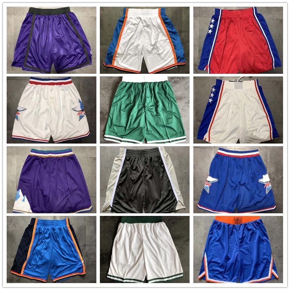 أعلى جودة ! 2020 سروال فريق كرة السلة سراويل الرجال السراويل الرياضية كلية أبيض أزرق أحمر أرجواني أخضر أسود