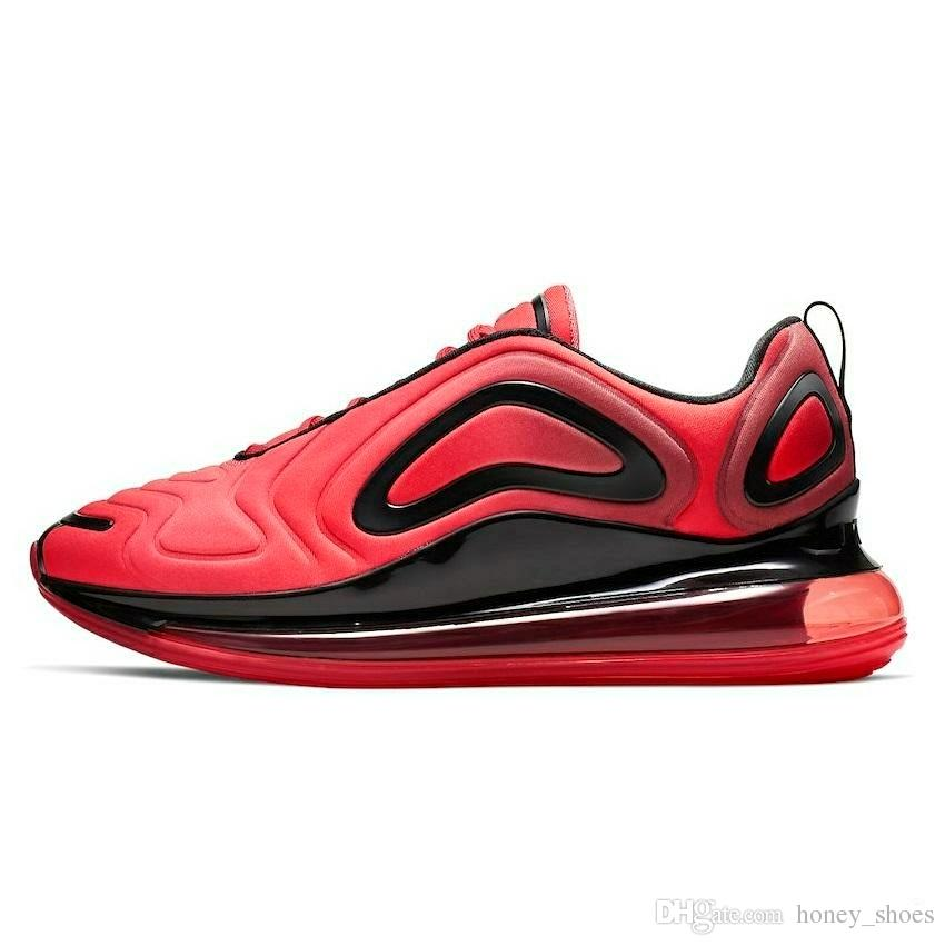 Compre Nike Air Max 720 2019 Gradation 720s FK Knit Transpirable Zapatos Casuales 720 OG Gradation All Aircushion Cushioning Calzado Casual A $157.79