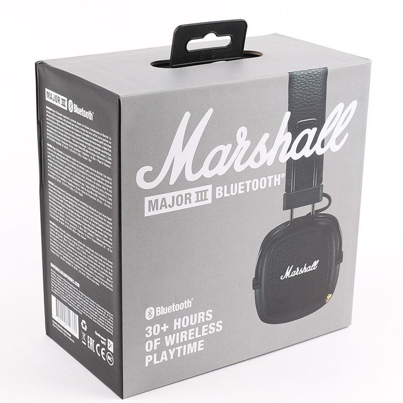 Marshall Maggiore III 3.0 cuffie Bluetooth con il Mic bassi profondi Hi-Fi DJ Wireless Headset professionale scatola al minuto DHL