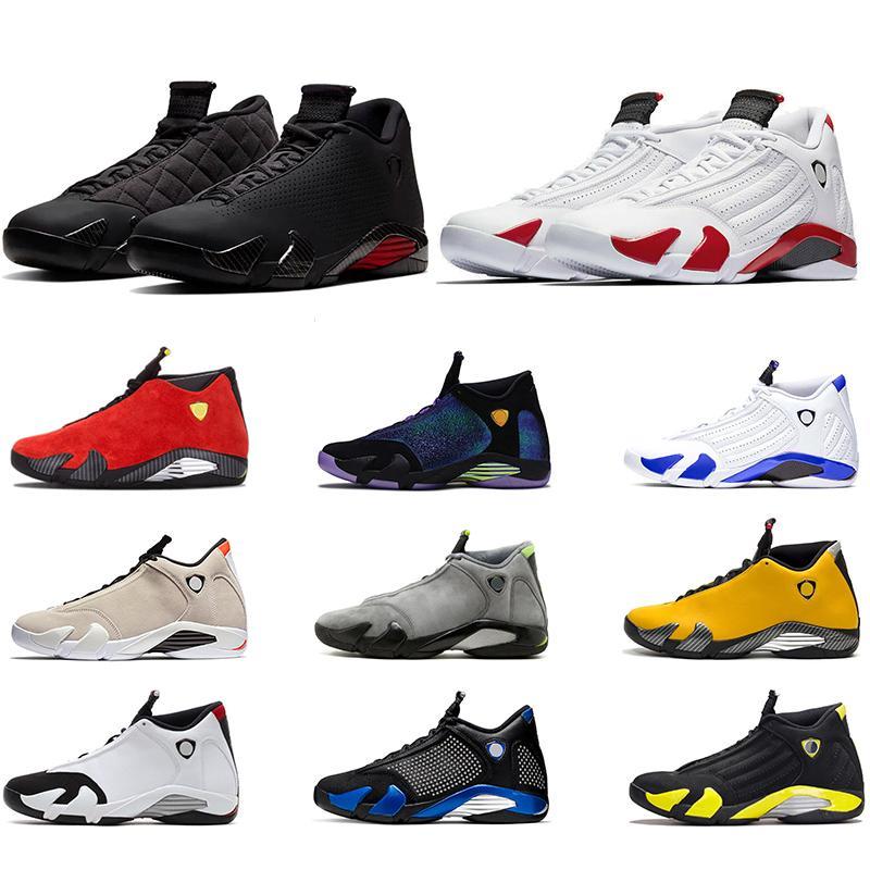 14 14s мужская баскетбольная обувь Graphite Doernbecher черный красный Candy Cane Toe Красный мужской кроссовки спортивные кроссовки размер 40-47