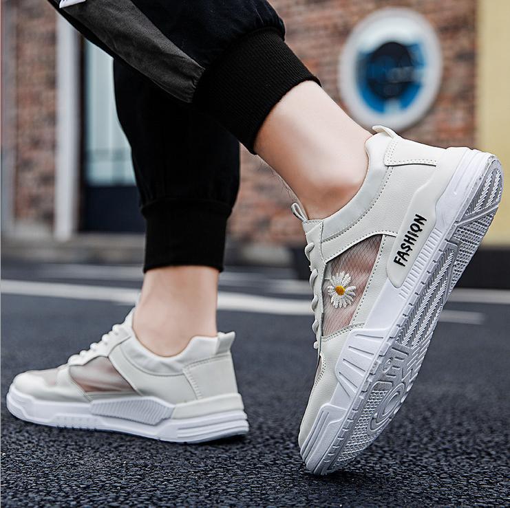 2020 estate cava scarpe casual scarpe bianche selvatiche respirabili degli uomini piccola margherita