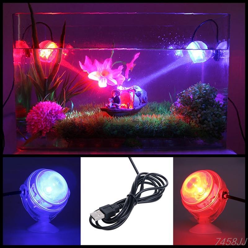 في الأماكن المغلقة LED مصباح تحت الماء للماء LED ضوء حوض السمك للشعاب المرجانية تانك الأسماك غاطس حوض السمك بقعة ضوء مصباح