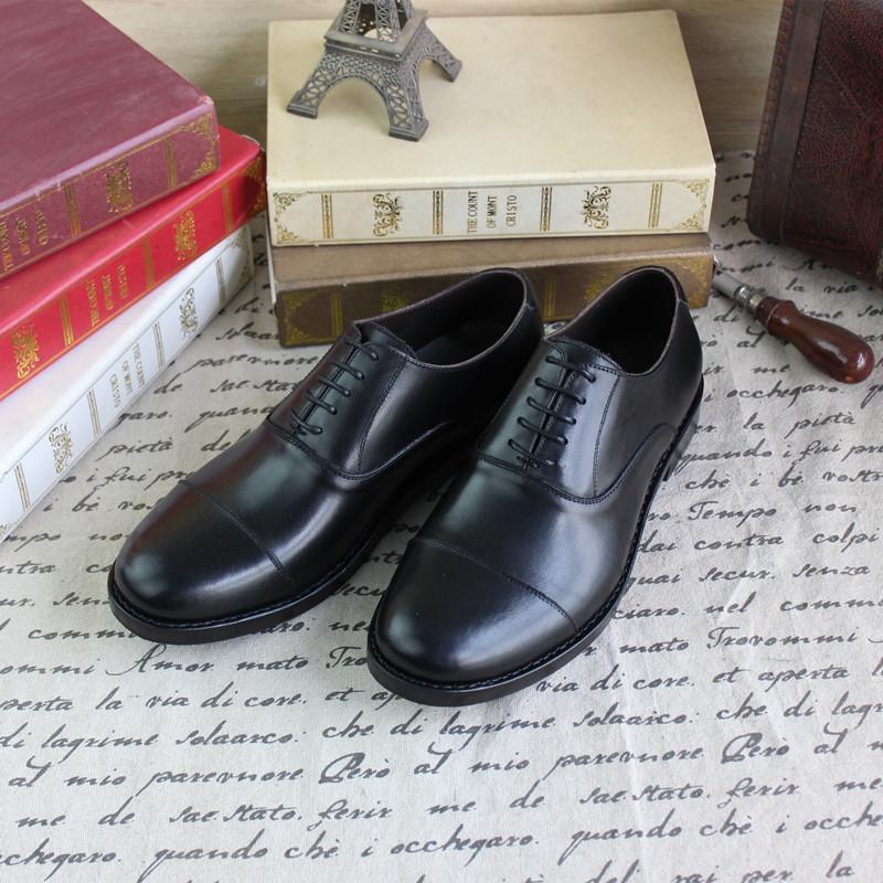 Goodyear Oxford Zapatos animales PI da di zapatos hechos a mano Italia Tres de negocio conjunto formal ropa de cuero