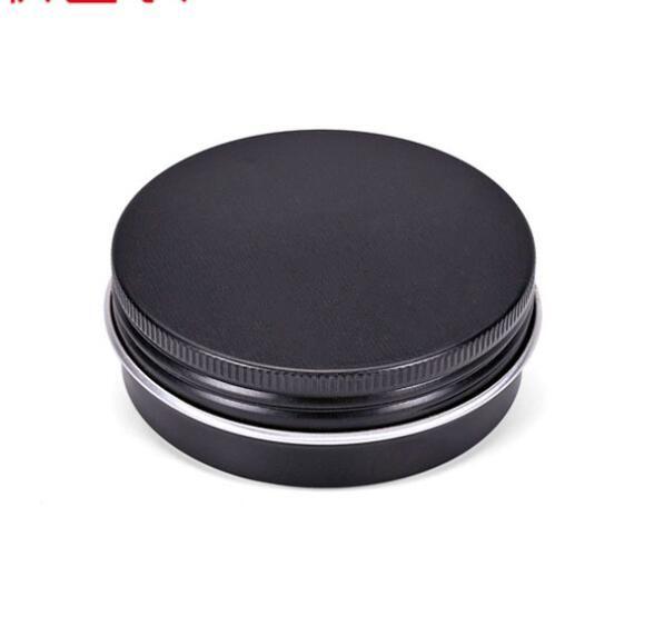 리필 알루미늄 항아리 60g 블랙 골드 금속 주석 화장품 용기 공예 포장 작은 알루미늄 상자 200PCS 비우기 60ML