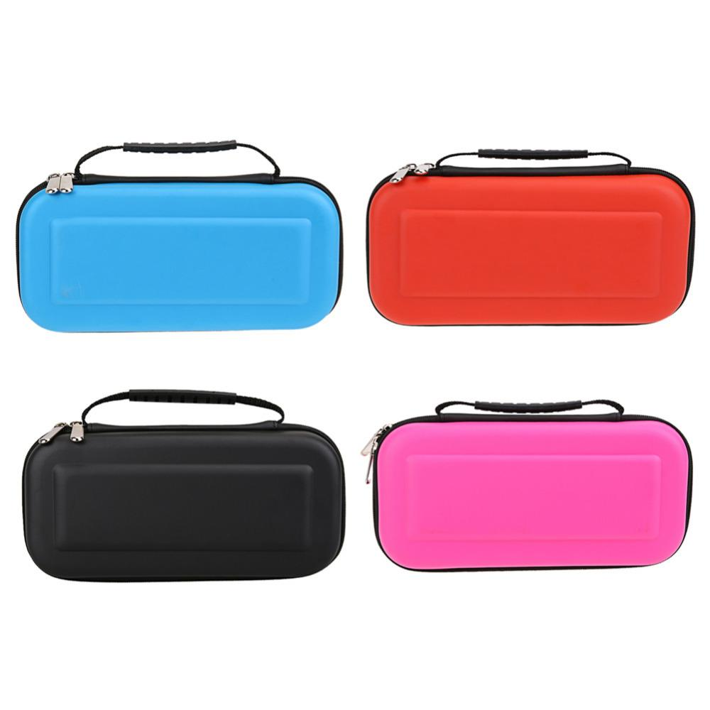 EVA Carrying Case Bag For Nintendo Switch Hard Durable Game Card Storage Portable CASE With Non-slip Handle 100PCS/LOT CRexpress
