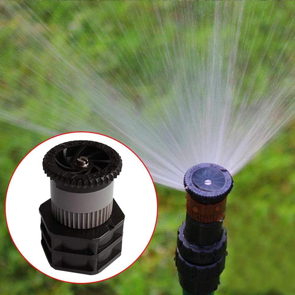 Rociar 1/2 pulgadas hembra jardín del agua de riego del césped boquilla giratoria ABS con Colador hilo de nebulización de riego Para vegetal