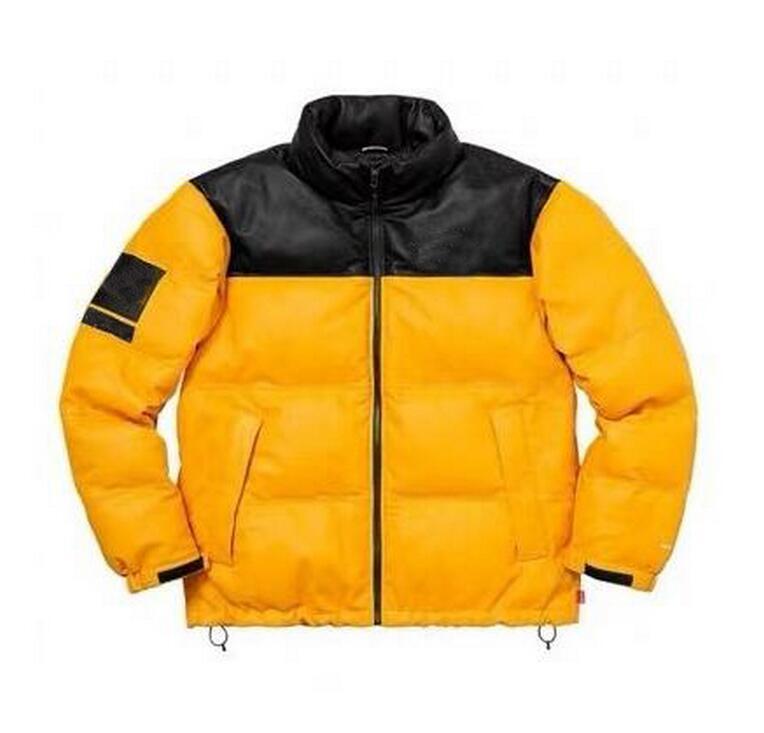 Nuovo modo di marca del cappotto del rivestimento di inverno di autunno del progettista degli uomini giacche sportive con cappuccio a maniche lunghe Zipper Windbreaker Mens Abbigliamento M-XL