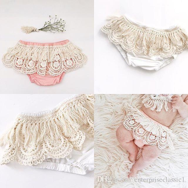 Baby Girls милые кружевные шорты шорты 4 размера для малышей 1-3T фото костюмы ins hot детские шорты 3 цвета
