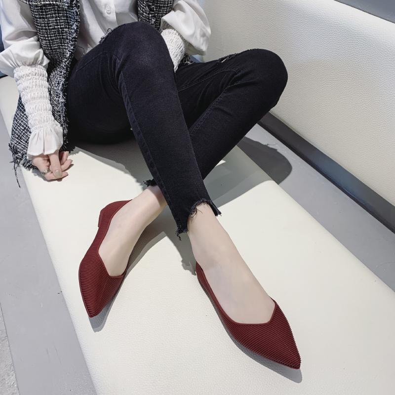 X08 nouveaux sports en cuir véritable chaussures de sport chaussures dames conduite de la mode des chaussures souples de plates