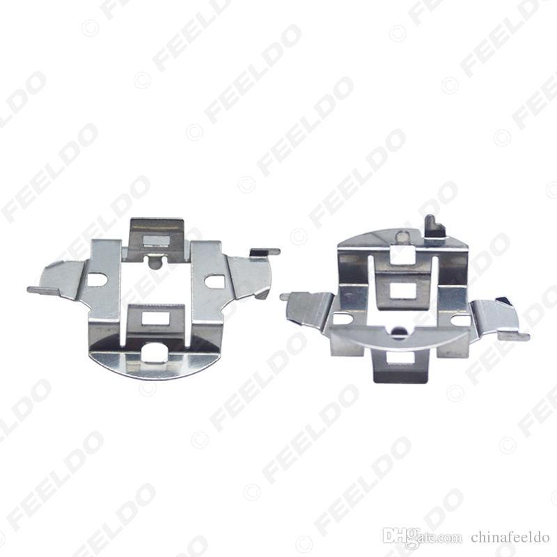 2x Car H7 HID Xenon Bulb Adapter Holder For Volkswagen Sagitar Chery Riich G5 HID Bulb Base Retainer Clip Socket #5555