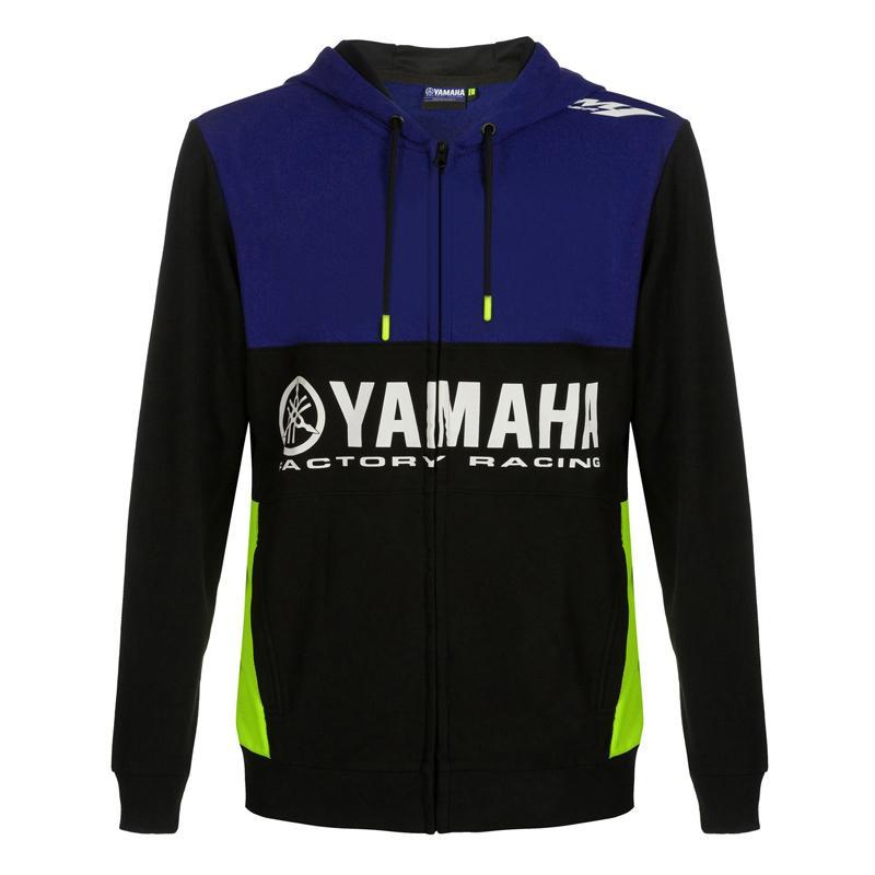 Motorcycle NEW Racing YAMAHA Casual Racing Zip Hoodie!@~46