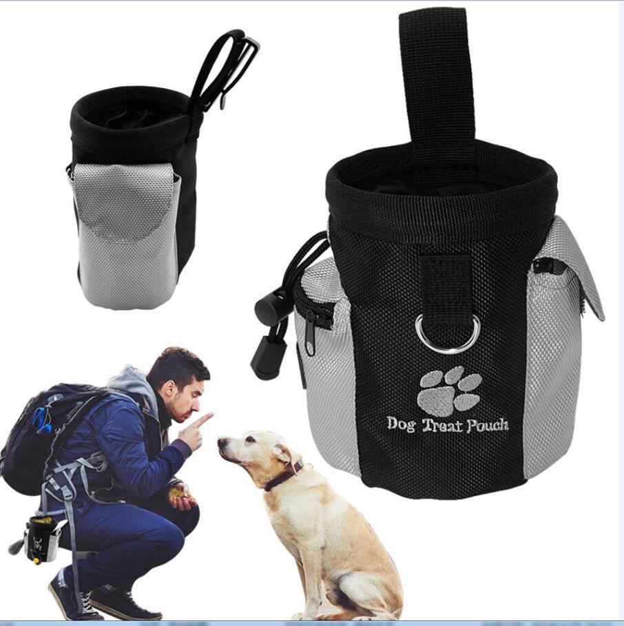 Hund Welpen Snack-Beutel Wasserdichtes Obedience Hands Free Beweglichkeit Bait Food Training Treat Pouch Zug Beutel-Geldbeutel LJJA3550-13