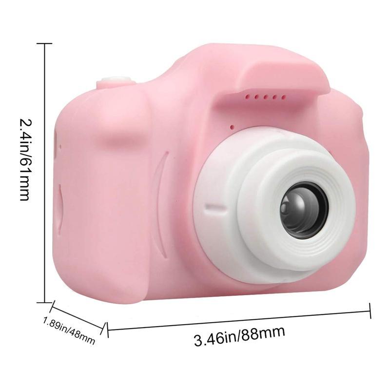 Children's Camera Waterproof 1080P HD Screen Camera Video Toy 30W Pixel Kids Cartoon Cute Camera Outdoor Photography Kids