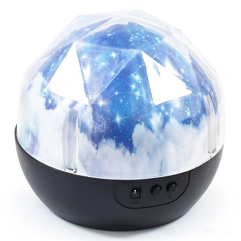 Magic Star Moon Planet Rotation Galaxy Projecteur Lampe LED Night Light Cosmos Univers Luminaria Bébé Lumières Pour Cadeau Ciel Étoilé