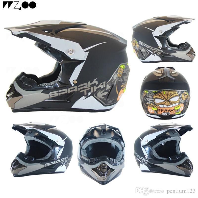 Tam Yüz motosiklet Kask Klasik bisiklet MTB DH yarış kask motokros yokuş aşağı bisiklet kaskı moto Maskesi
