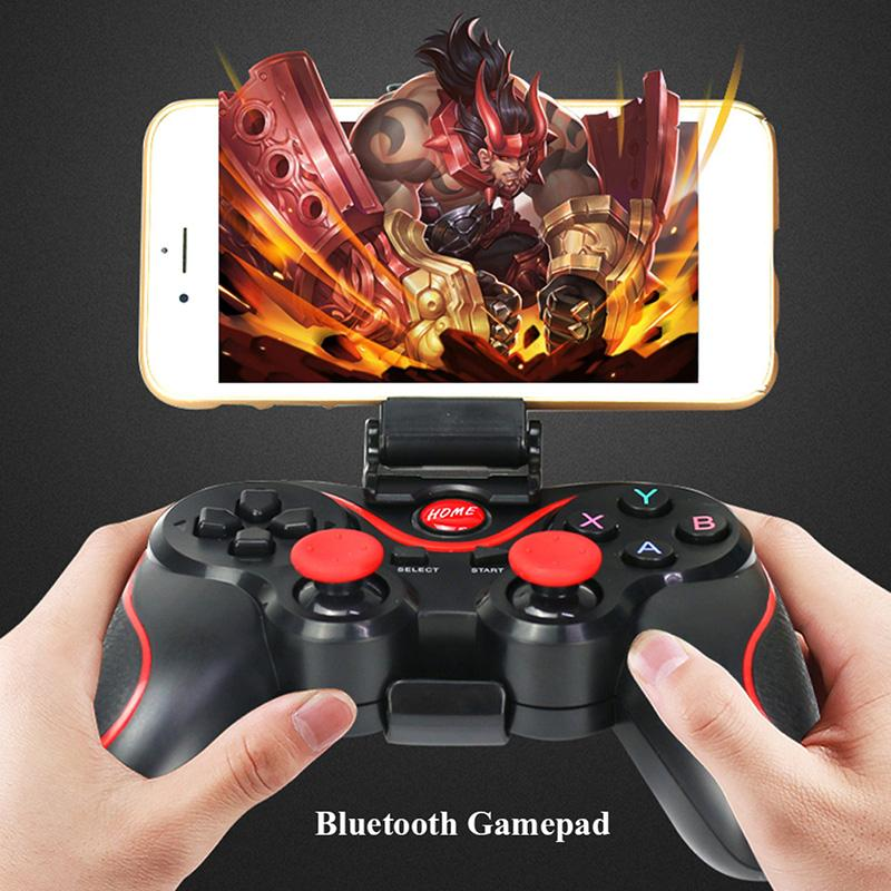 Bluetooth Wireless Gamepad S600 STB S3VR Game Controller Joystick For Android IOS Mobile Phones PC Game Handle fashion