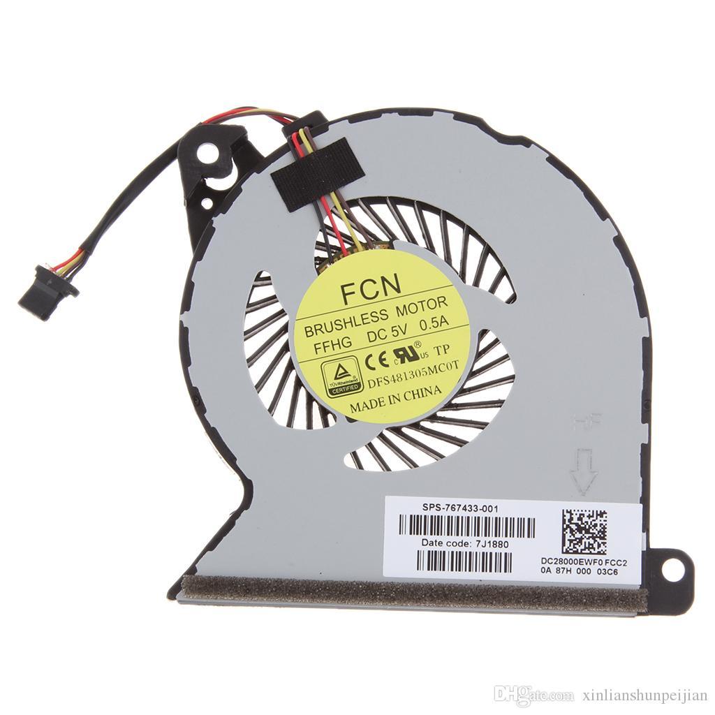 HP 프로 북 450 445 470 G2 767433-001 MF60070V1-C350-S9A의 seires의 새로운 노트북 CPU 냉각 팬 쿨러 라디에이터 노트북 PC