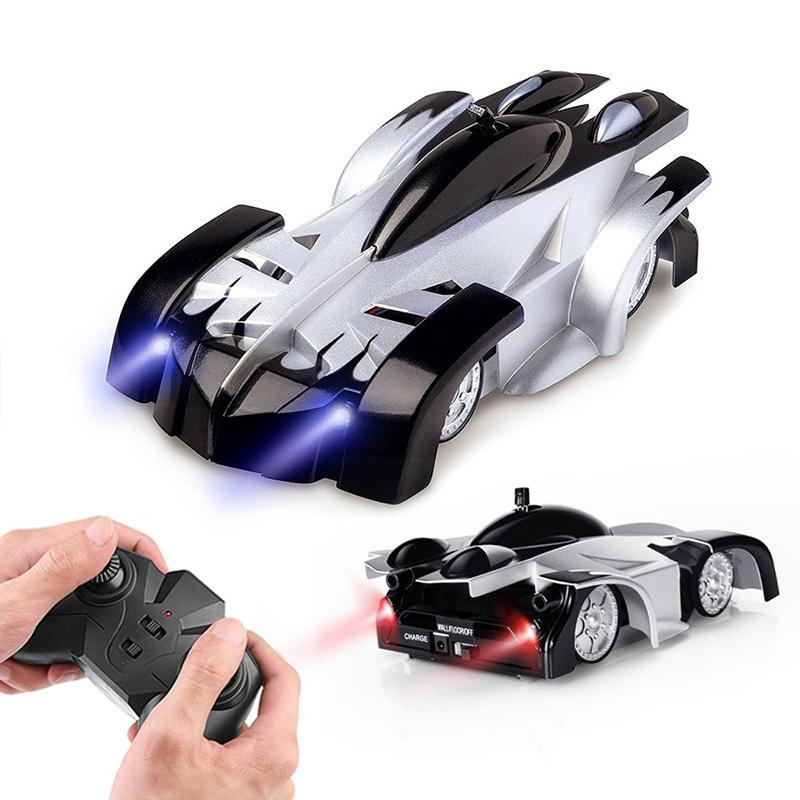 Dropshipping New Climbing Cars Remote Control RC Racing Car Anti Gravity Ceiling Rotating Stunt Electric Toys for Wholesale