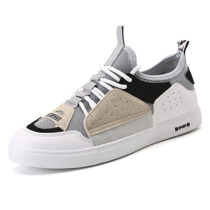 Scarpe da uomo autunno, scarpe da vecchio papà, scarpe da studente di Guochao, scarpe da passeggio per giovani coreane