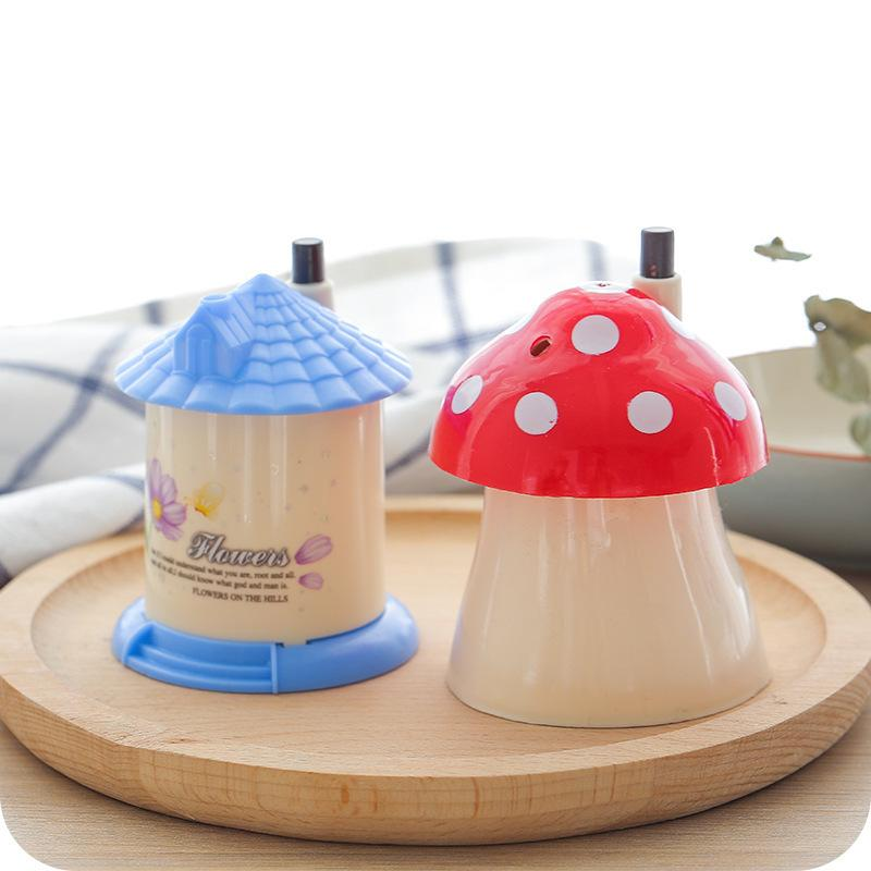 1585 Romantic Full House Originality Automatic Toothpick Box Fashion Portable Lovely Cottage Toothpick Canister