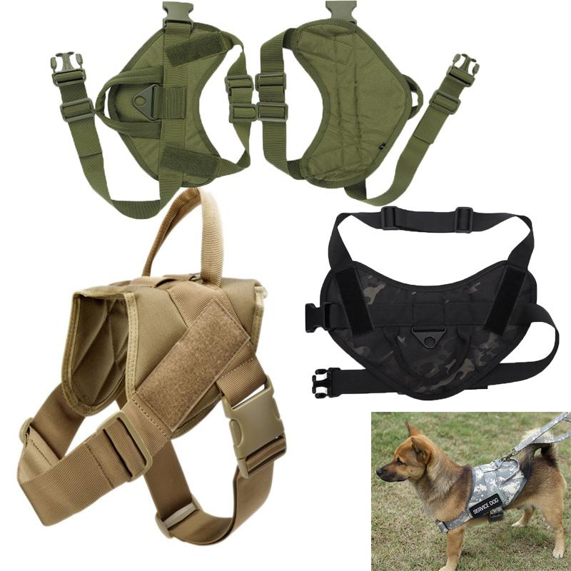 Tactical Dog Vest Hunting K9 Harness Training Pets Vest Water-Resistant Training Harness For Service Dog clothes