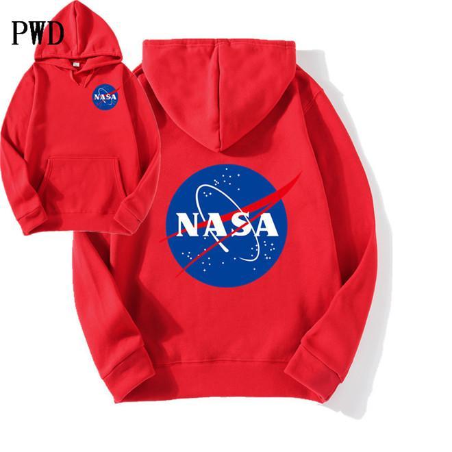 en yeni Nasa Hoodies Sweatshirt moda Erkek ve Kadınlar EL-9 için Coats Ceketler Hoody Hoodies Sweatshirt