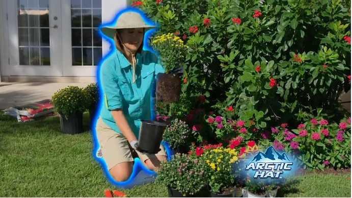 Meihuida Verão aba larga Chapéu de Sol UV Protection Arctic Cap Hat Cooling Cap Sunscreen Hidro Cooling Bucket
