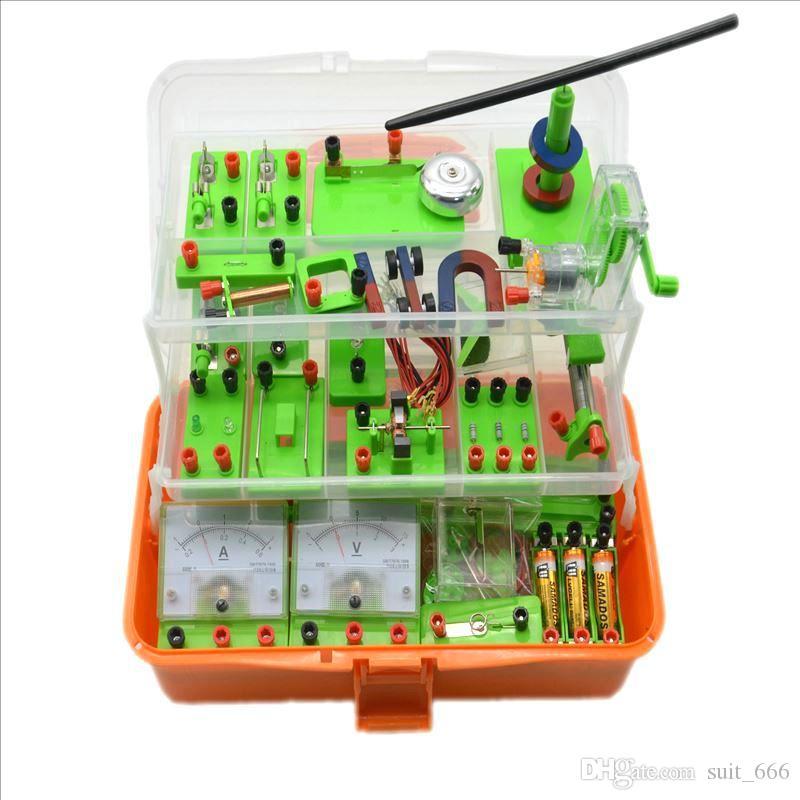 Elektrisches Experiment Box aufgerüstet Junior High School physische elektromagnetisches Experiment Box