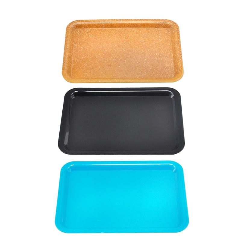 Newest Colorful Plastic Display Storage Tray Grinder Plate Pre-Roll Rolling Handroller Machine Tool Herb Tobacco Cigarette Smoking DHL Free