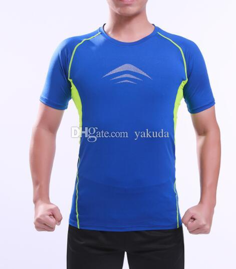 outono inverno on-line a aptidão dos homens terno collants ginásio manhã correndo esportes ritmo futebol assentamento camisa Yoga fitness esportes terno Futebol desgaste