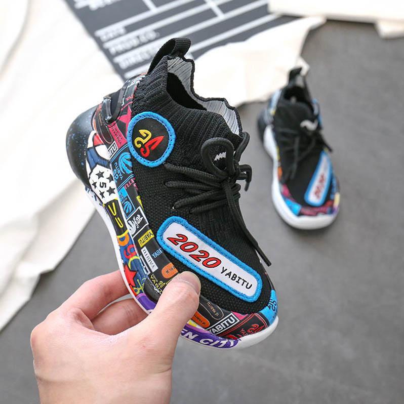 ayakkabı B470 çalışan Moda büyük çocuklar ayakkabı chaussures enfants çocuklar eğitmenler çocuk spor ayakkabıları erkek eğitmenler kızlar ayakkabı erkek ayakkabı kızlar ayakkabı