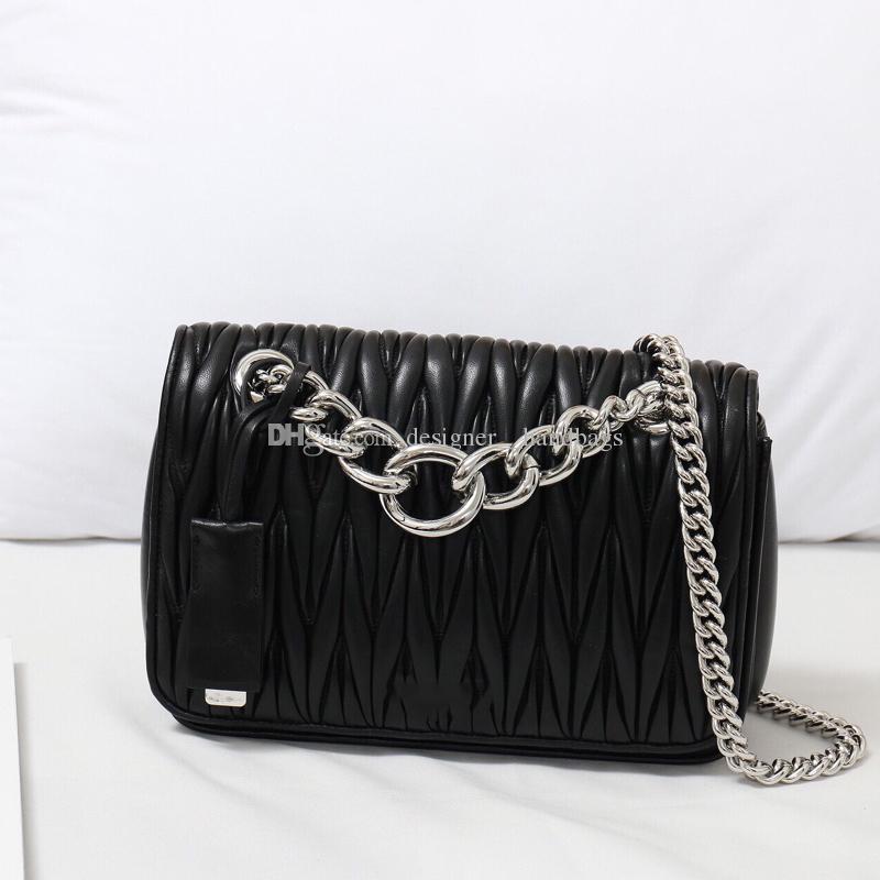 Tasarımcı lüks crossbody çanta cüzdan 19 düz houndstooth mektup bayan omuz çantaları iç fermuarlı cebi Kadınlar çanta hakiki deri